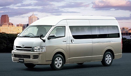 Rental Hiace di Malang fullday